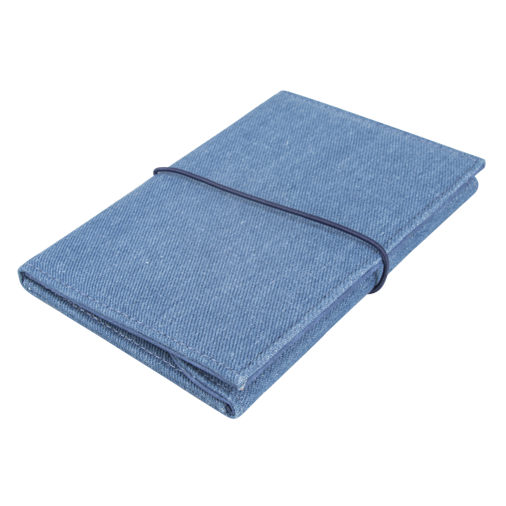 Traveler´s Wallet, 16x11cm, Denim , Box 1Stück, jeansblau