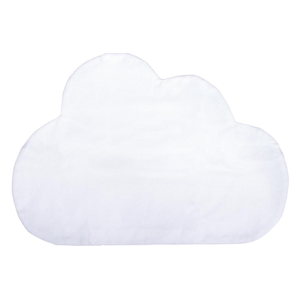 Kissenbezug Wolke, zum Zunähen, 35x24,5cm, 190g/m², SB-Btl 1Stück, weiß