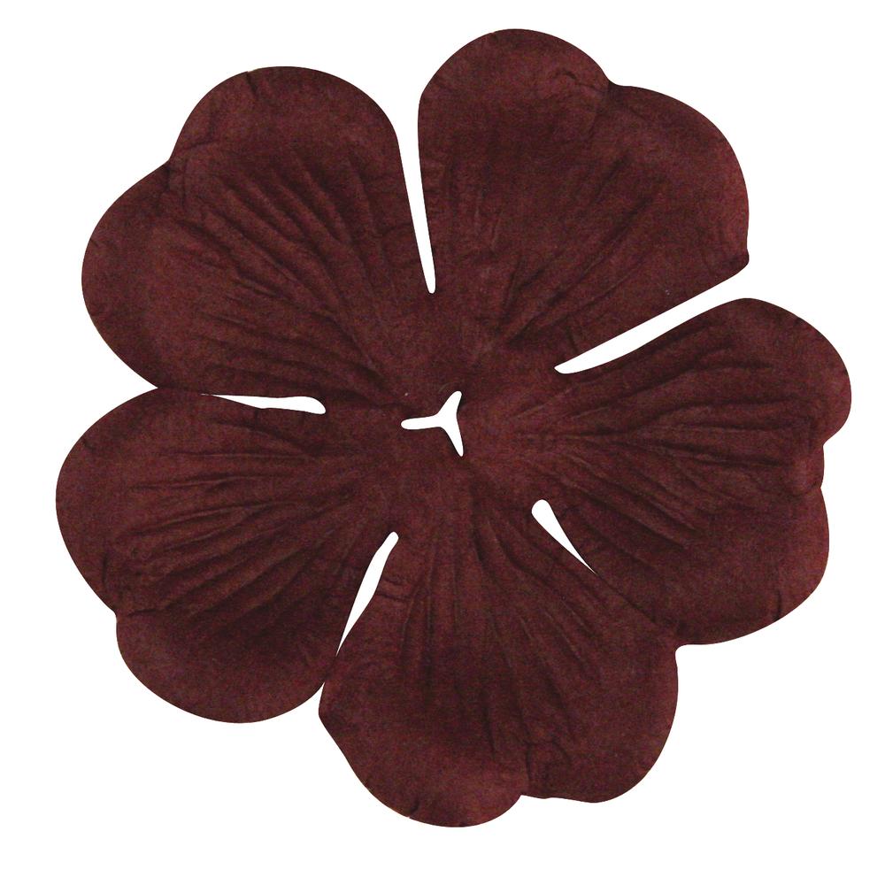 Papier-Blüte, 5 cm, SB-Btl. 10 Stück